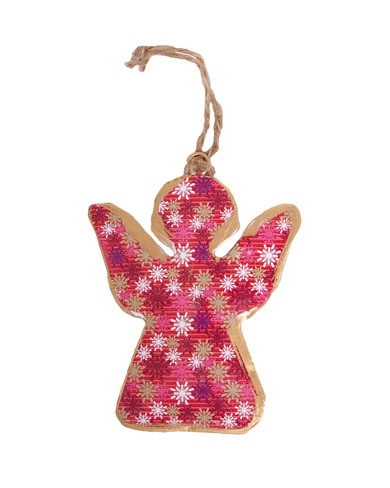 Winter Design Angel Christmas Decoration