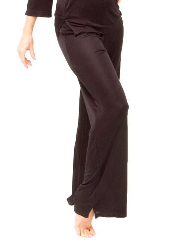 Knitted Silk Mix Lounge Trousers