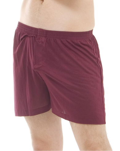 Solid Knit Silk Boxer