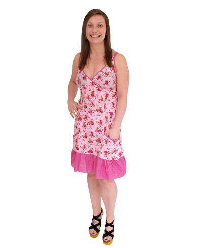 Danita Flower Print Tennis Dress
