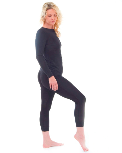 Silk Thermal Long John Set
