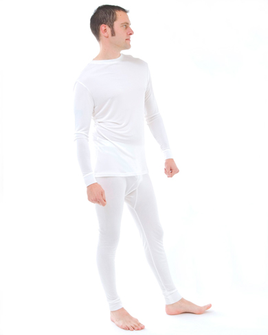 Silk Thermal Long John and Top Set