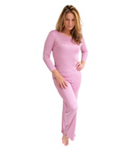 Knitted Silk Three Quarter Length Sleeve Lounge Set