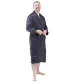 Quilted Silk Dressing Gown